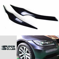Fit For BMW E90 SALOON HEADLIGHT COVER TRIM EYEBROWS EYELIDS 316i 330i 323i