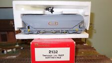 Rivarossi Italy 2132 Tow Truck Hopper SNCF Grey CONTINENTAL