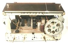 Mid Century  RCA MODEL 28T TABLETOP RADIO part: UNTESTED CHASSIS w/ 6 TUBES