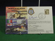 Vintage The Battle of Cape Matapan 28 March 1941 Signed FDC D014