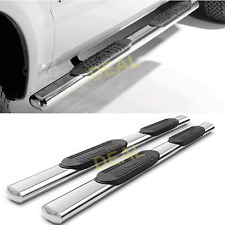 "2pcs 5"" S/S Side Step Nerf Bars Fit 09-14 F150 Super/EXT Cab Half Size Rear Door"