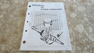 KOHLER ENGINE SERVICE MANUAL PRINCIPLES OF ENGINE OPERATION OEM