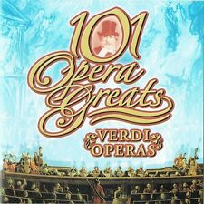 VERDI OPERAS: 101 OPERA GREATS VOL 2 – CD (2005) BJÖRLING CALLAS   TAGLIAVINI ++