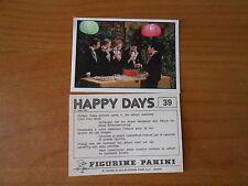 FIGURINA - HAPPY DAYS n.39 -ED.PANINI 1979 - COMPLETA DI VELINA