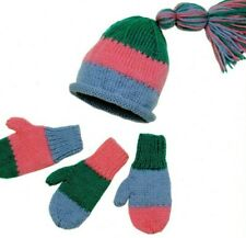 New ListingKnitting Pattern by Designs by Louise Meagan's Hat & Mittens