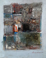 "Original oil on cardboard ""Abstract"" Odessa artist Alexander Lisowsky"