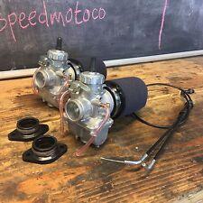 Honda CB350 CL350 sl350 Mikuni VM30  Carburetor Kit w/ Cable cafe racer Carb Kit