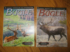 2 issues Year 2012, BUGLE Journal of  Elk and The Hunt Magazine, Rocky Mountain