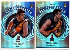 2013 Select Prime 2012 All Australian Richmond 2 Cards Cotchin Deledio