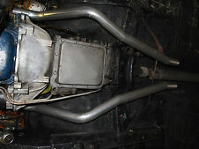 """FORD MUSTANG 65 to 70 COUPE AND CONVERTIBLE 2"""" ENGINE PIPES NEW SUIT DUAL"""