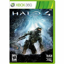 Halo 4 (Microsoft Xbox 360, 2012) Complete with Manual