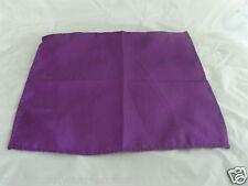 "<GG> Cadbury Purple Polyester Top Pocket Hankie- 9"" x 9"" = 23cm x 23cm - Square"