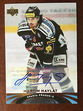 2004-05 UD All-World Autograph #11 Martin Havlat UPPER DECK AUTO