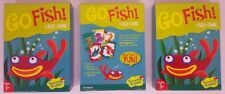 Go Fish! Classic Card Game for Kids - Peaceable Kingdom Gift Box (3 Pack) New!