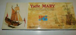 C. Mamoli 1/54 Scale Yacht Mary Wood Ship Model Kit No. MV28