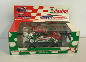 2002 RUSSELL INGALL CASTROL RACING HOLDEN VX COMMODORE 1:43 SCALE MODEL CAR