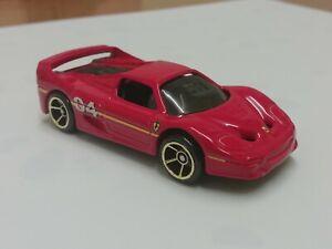 Hot wheels FERRARI F50 red 5 pack exclusive