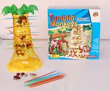 Tumbling monkeys game of skill and action family fun game
