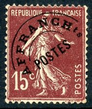 STAMP /  / TIMBRE FRANCE PREOBLITERE N° 53 NEUF SANS GOMME