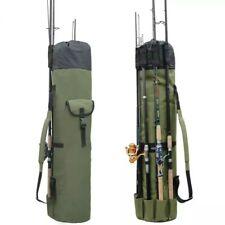 Multifunction Fishing Backpack Tackle Rod Storage Bag Portable Camping Organizer