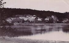 Village au bord Hôtel de Paris à identifier France Vintage citrate ca 1890