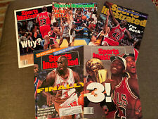 Sports Illustrated MICHAEL JORDAN LOT, Olympic, I'm Back, Why, Finally, 3!