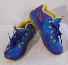 buy online dccab 3941e NEW Nike LeBron XI Low GS Boys Basketball Shoes 6 Photo Blue Concord  MSRP 135