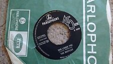 THE BEATLES - SHE LOVES YOU 1963 PARLOPHONE 45 7XCE 17395