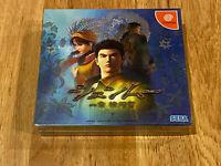 NEW/SEALED, Shenmue I 1 Limited Edition JAPAN Ver Sega Dreamcast