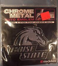 Boise State University metal auto emblem