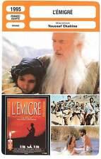 FICHE CINEMA : L'EMIGRE - Youssef Chahine 1995 The Emigrant