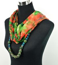 Foulard  Bijoux  Perle - Multicolore -    NEUF