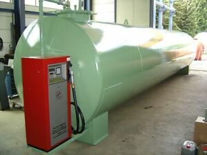 Dieseltankstelle Tankanlage Stahltank Lagerbehälter - 30.000 Liter - fabrikneu