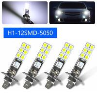 4PCS H1 6000K Super White 55W CREE LED Headlight Bulbs Kit Fog Driving Light