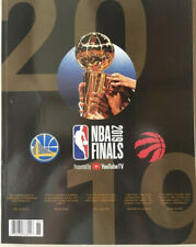 2019 NBA FINALS Game 6 Program GOLDEN STATE WARRIORS TORONTO RAPTORS (160 pages)