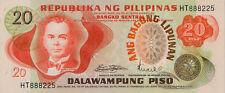 Philippines / Pilipinas P-155 20 piso ND UNC