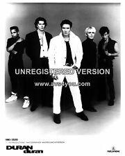 "Duran Duran 10"" x 8"" Photograph no 32"
