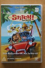 Stitch - The Movie (DVD, 2003)        Preowned (D216)