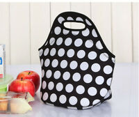 Neoprene Thermal Tote Insulated Lunch Cooler Travel Picnic Box Handbag Bag