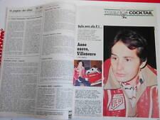 Guerin Sportivo_1977_n.47_GRAZIANI TORino_GILLES VILLENEUVE_RAY CHARLES_ZIGONI