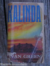 KALINDA BY EVAN GREEN outback sequel / second book to Adam's Empire