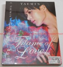 New SHINee TAEMIN  Flame of Love First Limited Edition CD DVD Photobooklet Japan