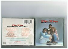 THE WHO CD .THE BEST OF   GREATEST HITS..WHO'S BETTER