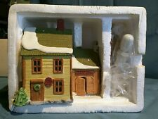 "Dept 56 New England Village Series ""Livery Stable & Boot Shop"" #6530-7 Heritage"