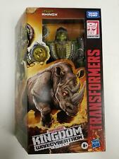 Hasbro Transformers Generations War for Cybertron Kingdom Voyager Rhinox 18CM