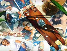 Johnny Depp's Leather Bracelet Wristband Cuff