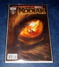 KODIAK 1 1:10 EYE variant JOE HILL RARE IDW horror 1st print COMIC BOOK one shot