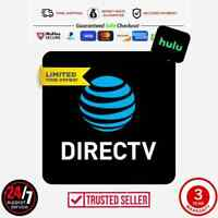 DirectTV | Premier 330+ Channels+ H U L U | 3 Year Warrnty | ✨Best Deal✨