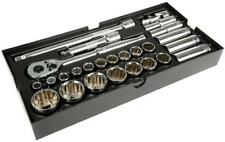 "Halfords Advanced Modular Tray Set - 26 Piece Socket Set 1/2""  150 170 200"