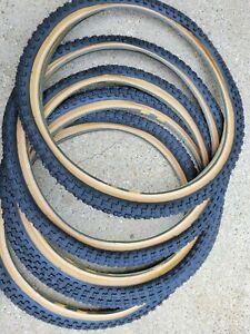 old school NOS new Kenda comp 3 skinwall 20 x 1.75  tires pair set bmx bike